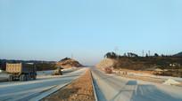 建设中的黎平世纪大道