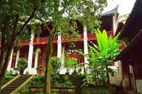 清幽古寺院落景观