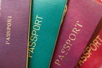 世界各国护照局部