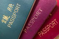 世界各国护照上的文字