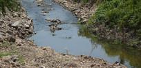 碎石河道景观