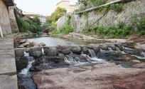 小河流水风景摄影