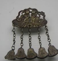 银锁装饰品图片