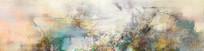 油画抽象画 写意山水画