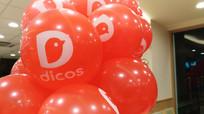 德克士餐厅的气球