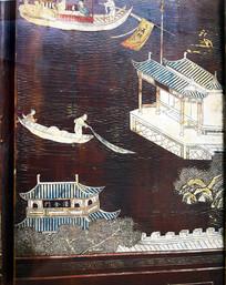 古代建筑和人物绘画