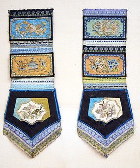 古代衣服上的刺绣装饰