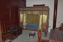 老式架子床图片