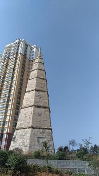 清镇梯青塔湿地公园