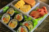 寿司套餐美食图片
