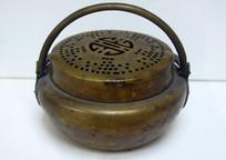 铜质熏香炉图片