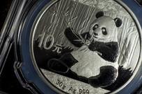 熊猫币微距摄影
