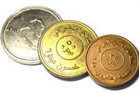 伊拉克硬币特写