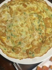 中国菜苦瓜鸡蛋饼