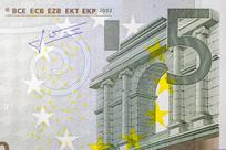 5欧元微距特写