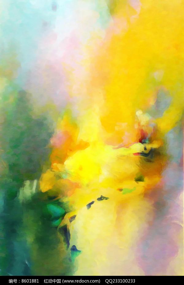抽象油画壁画背景墙图片