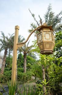 传统园林艺术灯笼