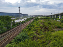 大虹桥铁路交通