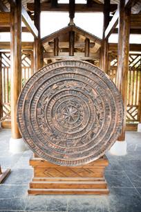 大铜鼓雕刻