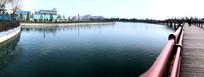 迪士尼小镇星愿湖