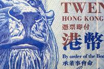 港币20元狮子特写