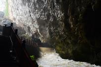 龙宫地下河流景观