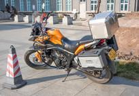 摩托车拍摄