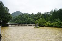 涨水的龙宫景区