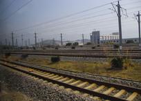 多条铁路铁轨