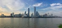 广州珠江新城全景图