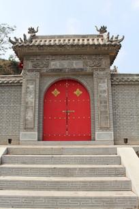 古建筑门楼