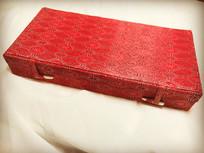 红色中国风礼品盒