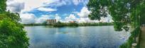 惠州南湖景色全景图