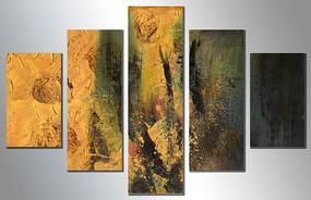 极简风格装饰画组合艺术