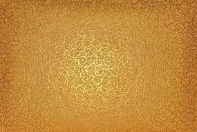 金色花纹背景纹理