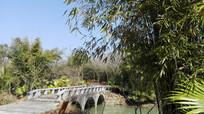 桃花岛石桥