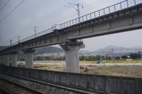 铁路高架路网