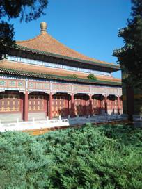 公园里的古建筑