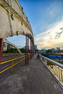 惠州水门大桥人行道景观