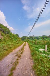 惠州新塘村的小路