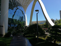G20会场空中花园