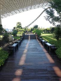 G20空中花园的长廊