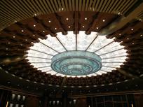 杭州G20会议厅中国风吊顶