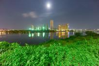 惠州金山湖夜景