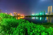 惠州金山湖夜景风光