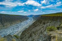 美丽新疆独山子大峡谷风景