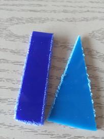 天蓝色PVC
