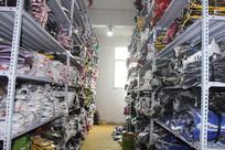 制衣厂服装货架