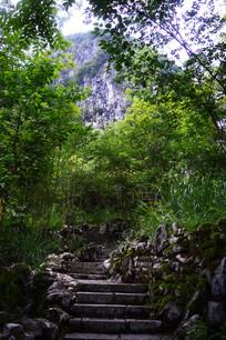 龙宫景区的喀斯特地貌