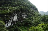 山上的悬崖